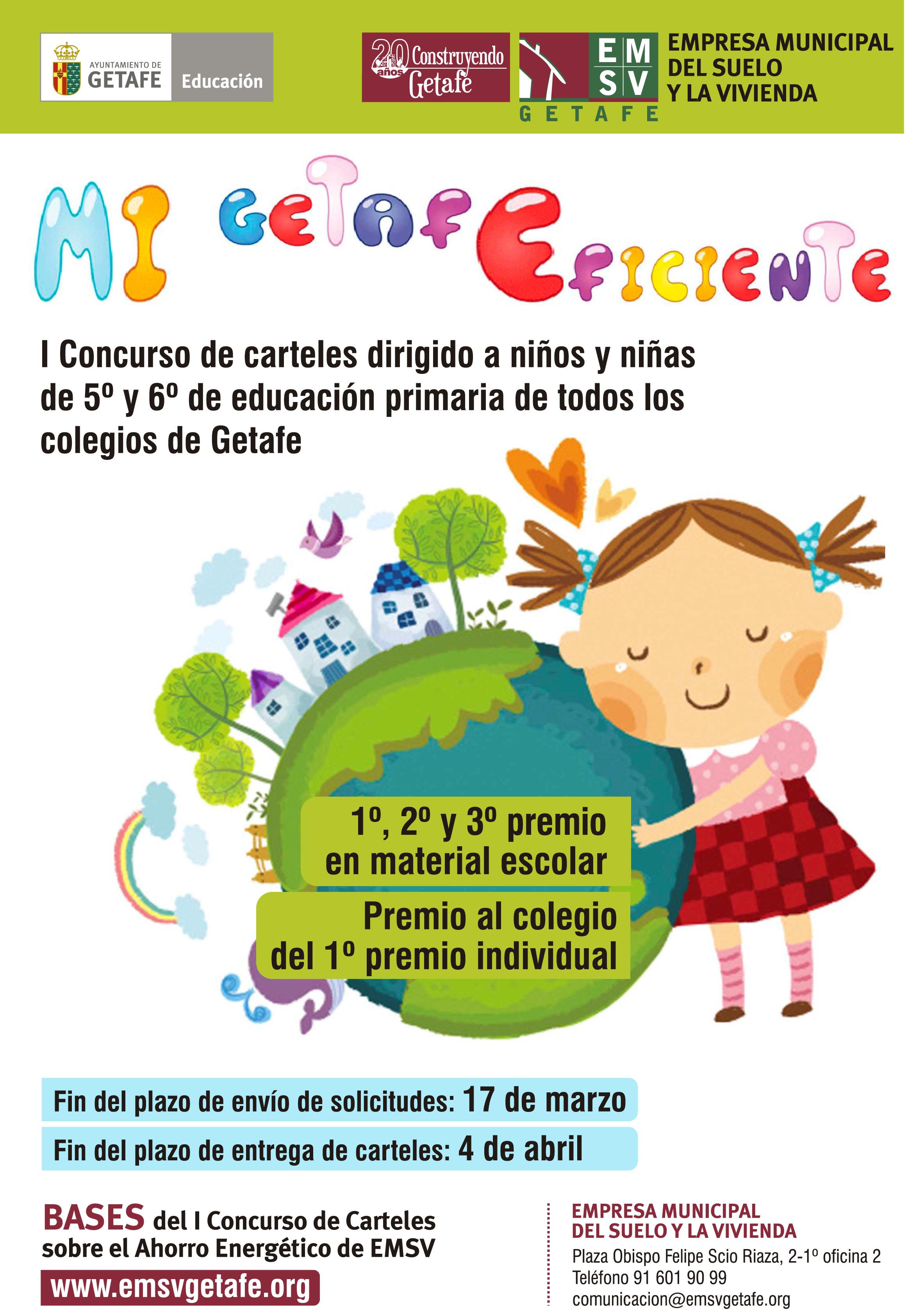 este es un concurso decarteles infantiles sobre eficiencia energtica dirigido a nios y nias de 5